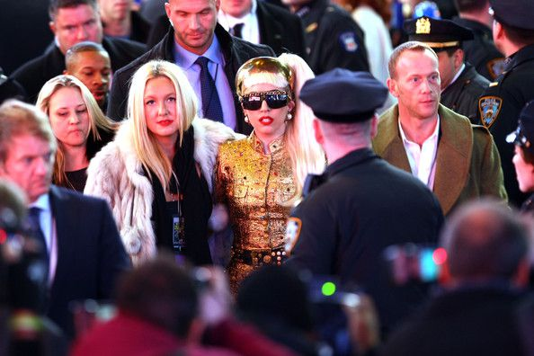 Lady Gaga performs on New Years's Rockin' Eve